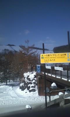やってきました志賀高原